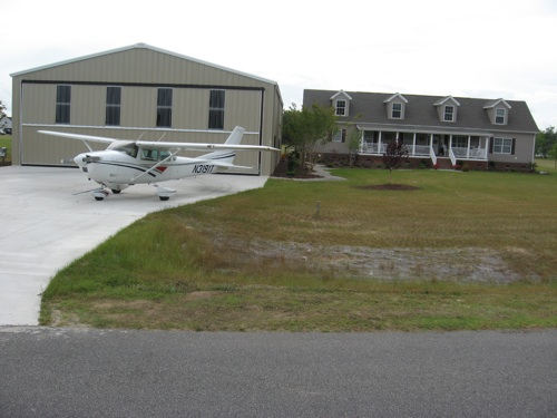 Brady Landing home with Cessna 182